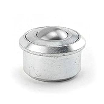 200 lbs Capacity Hudson Bearing Drop-in Style Ball Transfer 1 Carbon Steel Ball