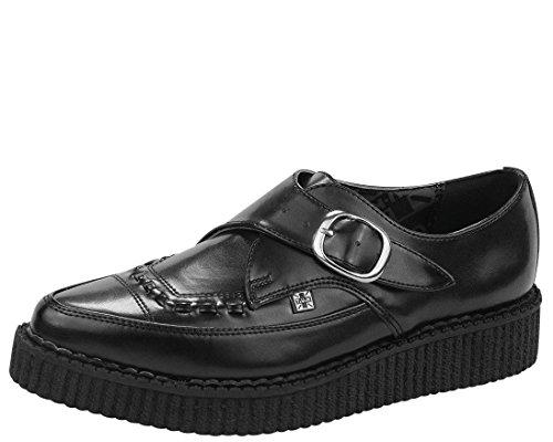 Buckle Creepers (T.U.K. Unisex A8520 Creeper Sneaker,Black,8 M US)