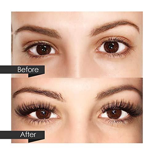 37e256c88a0 Eyelash Extension Kits, Luckyfine Training MakeUp False Eyelashes Extension  Glue Tool Practice Kit for Makeup