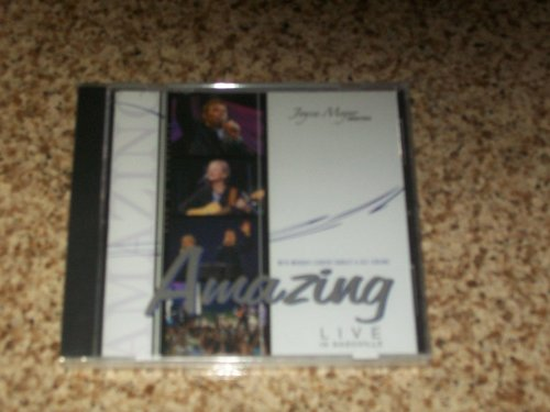 JOYCE MEYER MINISTRIES CD AMAZING LIVE IN - Nashville Stores Outlet