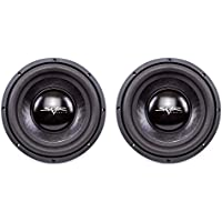 (2) Skar Audio IX-10 D2 10 400W Max Power Dual 2 Subwoofer