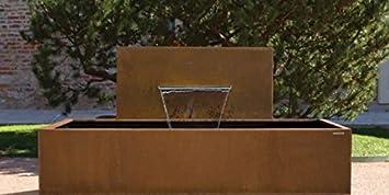 Gartenmetall Outdoor Küche : Gartenmetall das modulare cortenstahl brunnensystem aqua linea