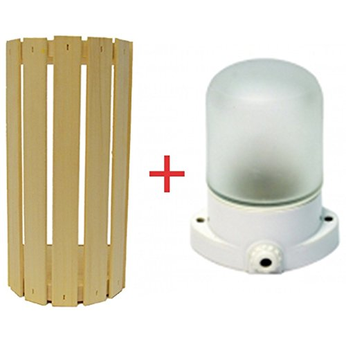VOLET SV SAUNA OVALE LAMPE DE SAUNA LINDNER