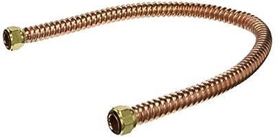 EZ-FLO 437730 Eastman Copper Water Heater Connector 3/4-Inch Fip X 3/4-Inch Fip
