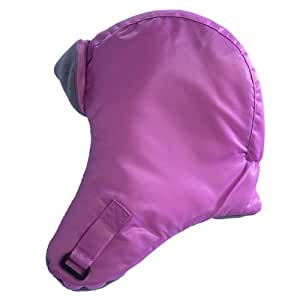 07 a.m. Sombrero Trapper Mütze, rosa, Größe M (1 bis 2 Jahren)
