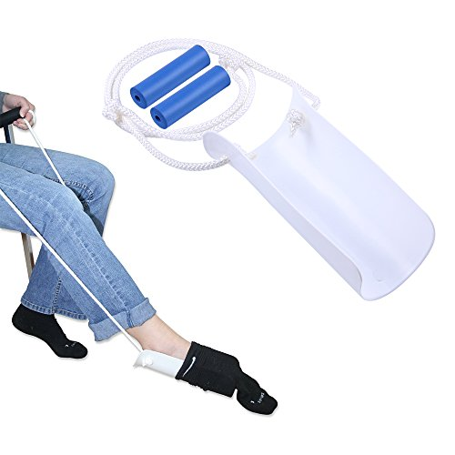 ZIME Elderly Men Socks Dressing Assisting Equipment Pregnant Women Avoid Bending Waist Socks Dressing Tools Disabled Elderly Sock Dressing Aid by Best to Buy