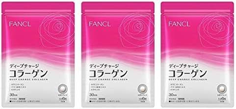 Fancl Deep Charge Collagen 30 Days HTC Collagen Japan (Set of 3)
