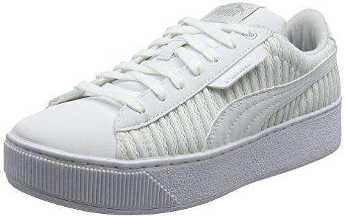 Puma Damen Vikky Platform Ep Q2 Sneaker Weiß (puma Wit-puma Wit)