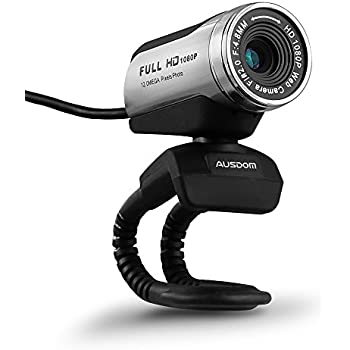 Ausdom 1080p hd usb webcam network camera with microphone for pc computers - Splugen web camera ...