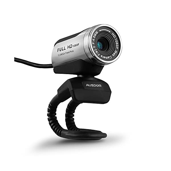 AUSDOM HD Webcam 1080P with Microphone