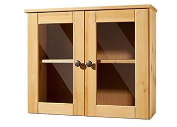 Lifestyledesign Hangeschrank Holz Natur 50 X 20 X 60 Cm Amazon De