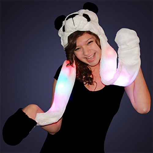 Panda Hat Light Arms Mittens product image