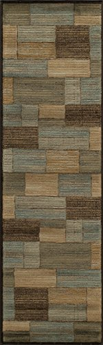 Momeni Rugs DREAMDR-04BRN2376 Dream Collection, Contemporary Area Rug, 2'3