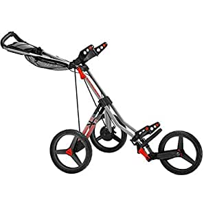 Sun Mountain V1 Sport Speed Cart - Gunmetal/Red