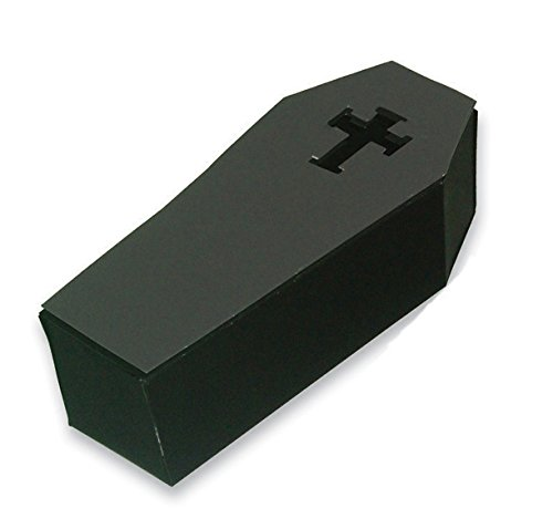 Creative Converting 18-Count Halloween Coffin Silverware Caddies With Lidded Boxes - 324837