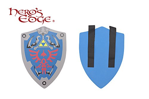 SwordMaster - Thick Master Link's Knight Hylian Foam Shield from the Game Legend of Zelda NIB by SM