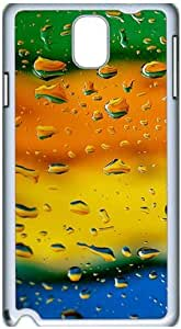 Fashion Designed Pattern Protevtive Hard Back Case Cover for Samsung Galaxy Note3 N9000 Colorful Raindrops