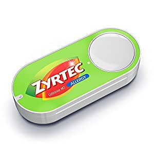 Zyrtec Dash Button from Amazon