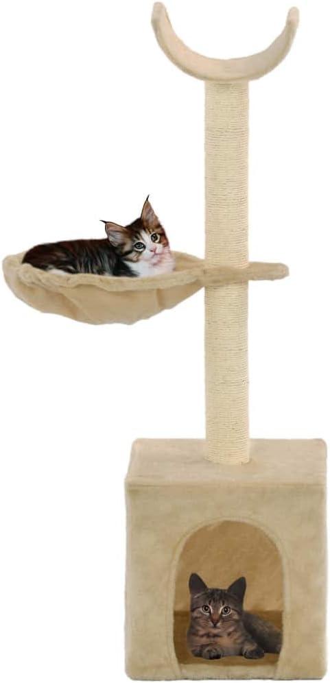 UnfadeMemory Árbol para Gatos de Pared,Rascador para Gatos con 1 ...