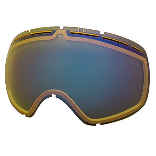 Electric Visual EG2 Yellow/Blue Chrome Snow Goggle - Electric Lenses Eg2 Goggles