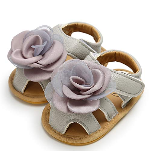 Tronet Toddler Sandals Boys/Girls Baby Girls Shoes Rose Cuty Pricess Fashion Toddler First Walkers Kid Shoes]()