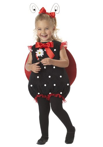 California Costumes Lil' Lady Bug Romper, Red/Black, 18-24 Costume (Ladybug Costume For Toddler)