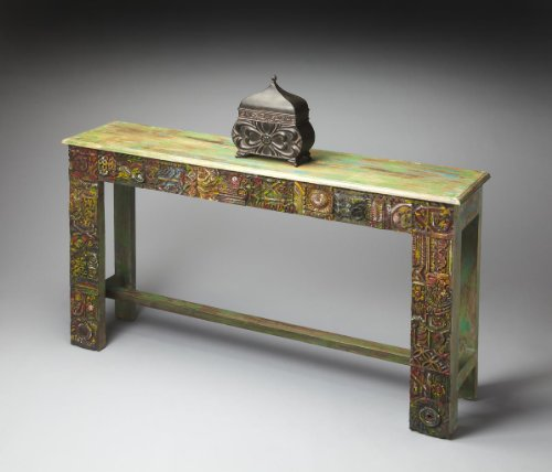 Butler Home Decor Console Table Finish Type - Moderate Artifacts