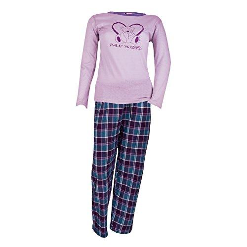 Mujer Manga Larga Pijama Teddy