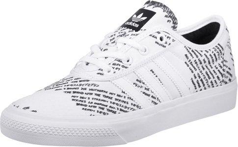 adidas Adi-Ease, Scarpe da Ginnastica Unisex – Adulto, Bianco (Ftwbla/Negbas/Ftwbla), 44 EU