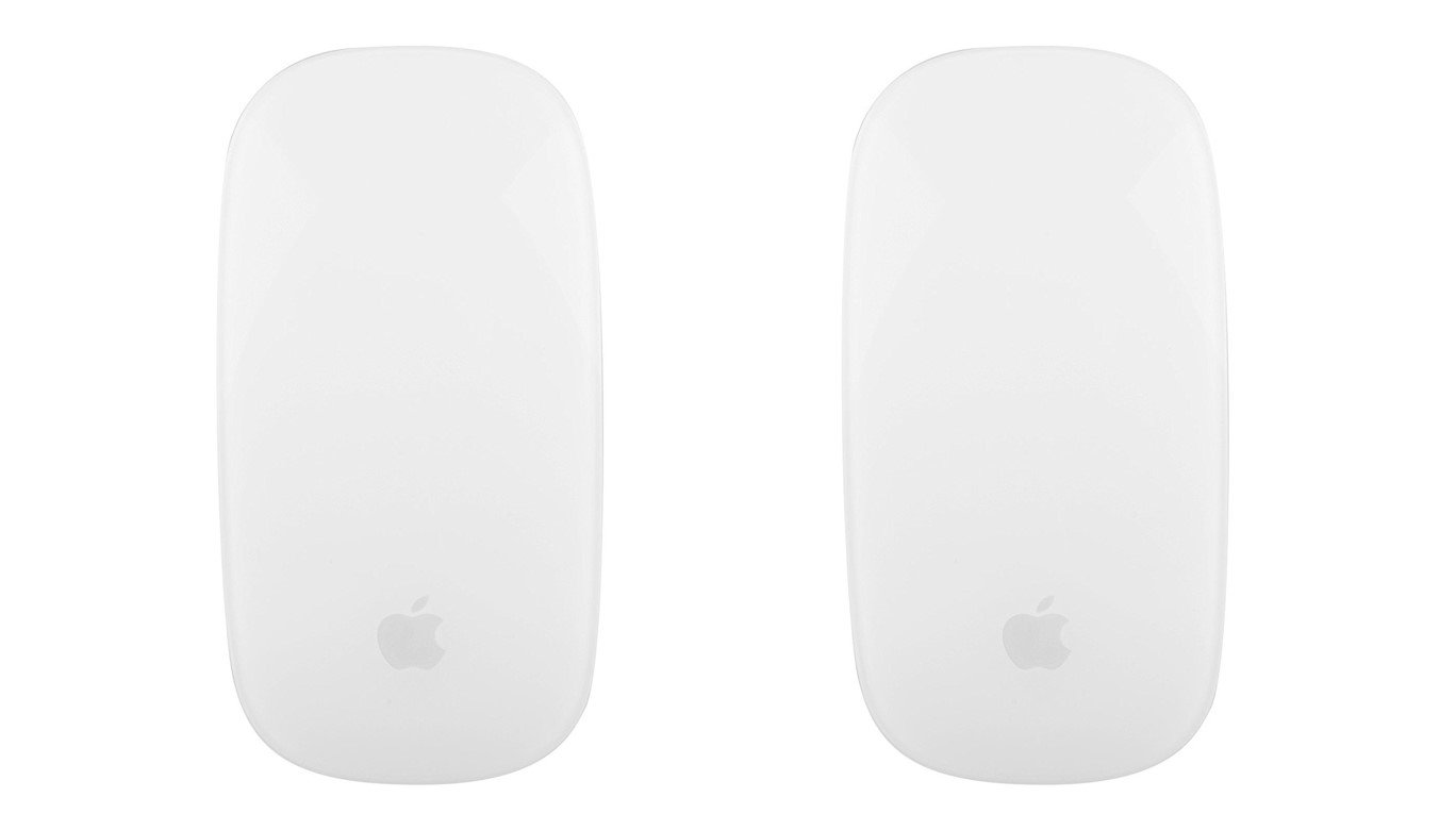 Apple Wireless Magic Mouse 2 MLA02LL/A - Silver, 2 Pack (Certified Refurbished)