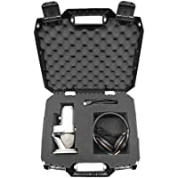 STUDIOSAFE Microphone and Recording Equipment Carry Hard...