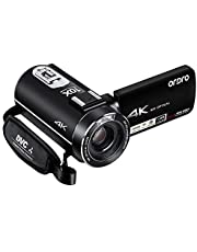 ORDRO 4K UHD Camcorder Digitale Videokamera