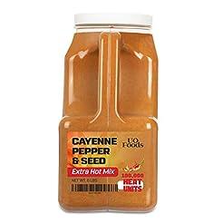 Cayenne Pepper & Seeds Extra Hot Mix | 1...