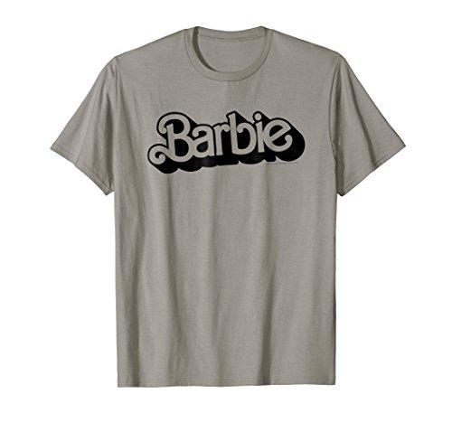 Barbie Retro Logo T-Shirt]()