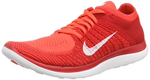 huge selection of 44780 7c3ce Nike Mens Free Flyknit 4.0 Running Shoes,Brght Crmsn White Unvrsty Rd T,9.5  D(M) US - Buy Online in UAE.   Shoes Products in the UAE - See Prices, ...