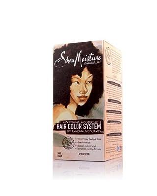 Shea Moisture Hair Color System - SOFT BLACK