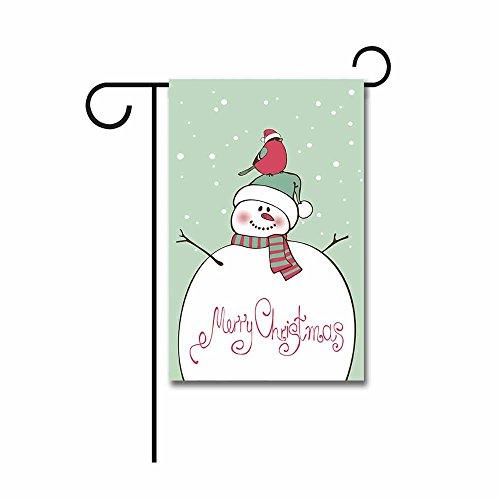 Snowman Head Christmas Outdoor Light Light Post