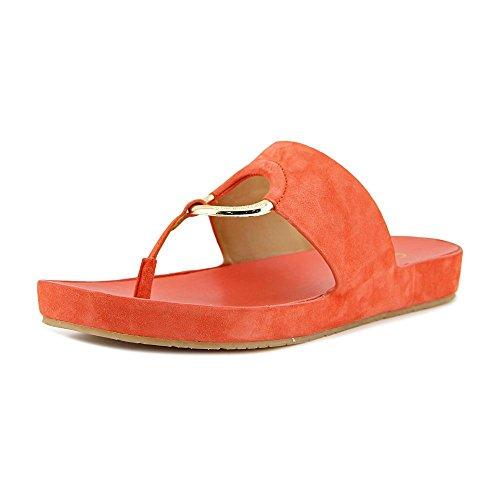 Calvin Klein Womens Mali Fabric Split Toe Casual Sport Sandals Deep Blush D9MC9Pp5dp