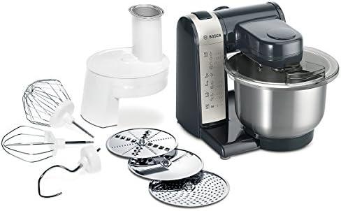 Bosch MUM48A1 - Robot de cocina, 600 W, capacidad de 3.9 litros, 4 velocidades, color gris y antracita: Amazon.es: Hogar
