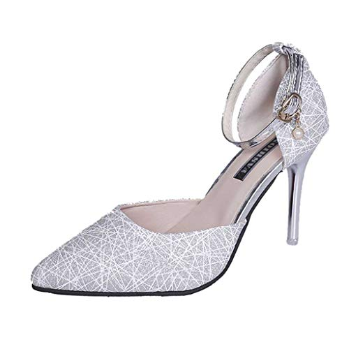 Sandals Aerosoles for Women-Women's Open Toe T-Straps Strappy High Wedge Heel Wood Decoration Buckle Shoes Sandals Silver