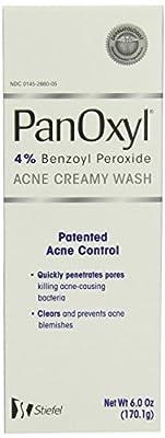 Panoxyl 4% Benzoyl Peroxide Acne Creamy Wash 6 oz