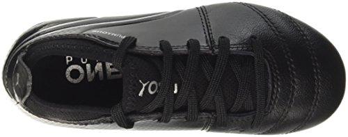 One Jr Ag Chaussures 3 black Enfant Noir 17 De Puma silver black Football Mixte TIwqgdUI
