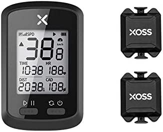 XOSS Ciclocomputador G+ GPS inalámbrico Velocímetro Impermeable Bicicleta de Carretera MTB Bicicleta Bluetooth Ant + con computadoras de Ciclismo de cadencia (Combo 2): Amazon.es: Deportes y aire libre