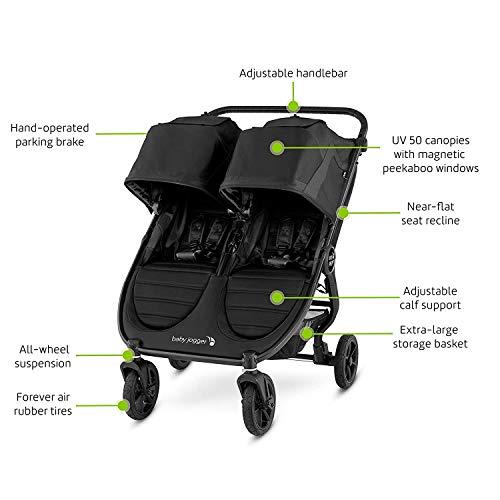41m7SKp RmL - Baby Jogger City Mini GT2 Double Stroller, Jet