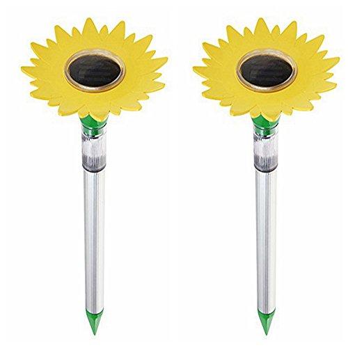PCO Solar Mole Repellant,Solar Products,Mole repeller solar powered,Solar Mole Expeller -2 Pack by PCO Products