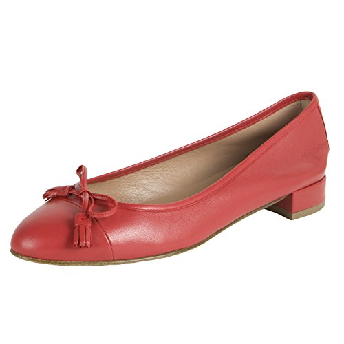 Marina Red Shoes Tassle Rinaldi Women's Leather Red Lacca qw4zfP