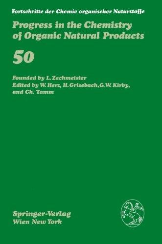 Fortschritte der Chemie organischer Naturstoffe / Progress in the Chemistry of Organic Natural Products (Volume 50)
