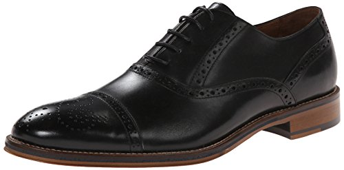 Johnston & Murphy Men's Conard Cap Toe Oxford,Black,10.5 M US Johnston & Murphy Suede Heels