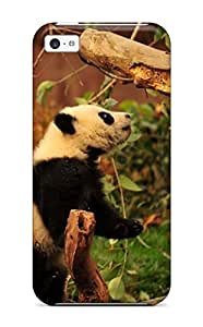 Fashionable Style Case Cover Skin For Iphone 5c- Panda