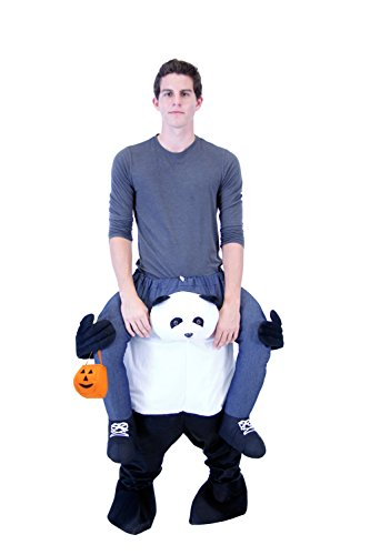 Creative Halloween Costumes For Teenagers (Costume Agent Men's Piggyback Panda Ride-On Costume, Panda,)